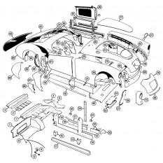 Body Panels - MGA (1955-62)