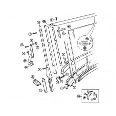 Windscreen - MGA Roadster