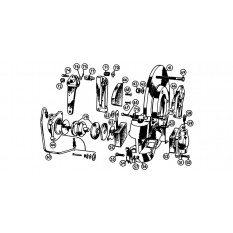 Rear Brakes: Twin Cam & De luxe