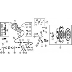 Clutch & Brake Master Cylinder - MGA (1955-62)