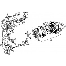 Clutch System - MGA Twin Cam & De Luxe (1958-62)
