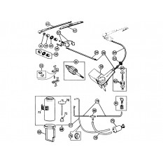 Windscreen Wiper & Washer System - MGA (1955-62)