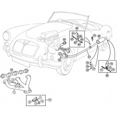 Exhaust Manifolds & Systems - MGA