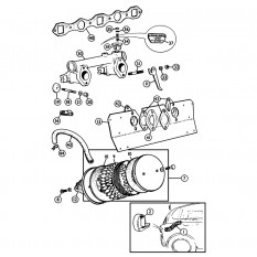 Air Cleaners & Inlet Manifold - MGA (1955-62)