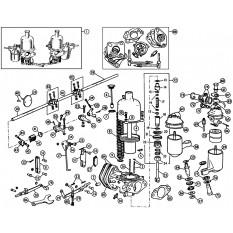 Carburettors - MGA (1955-62)