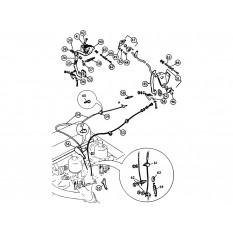 Engine Controls - MGA (1955-62)