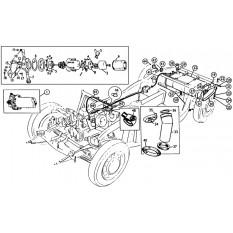 Fuel Tank, Pipes & Pump - MGA (1955-62)