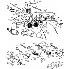 Instruments & Cables - MGA (1955-62)