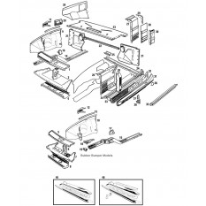 Front Inner Body Panels - MGB & MGB GT (1962-80)