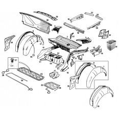 Rear Inner Body Panels - MGB & MGB GT (1962-80)