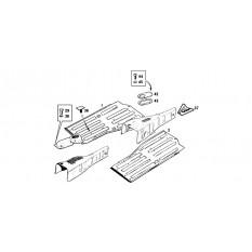 Floors & Gearbox Tunnel - MGB & MGB GT (1962-80)