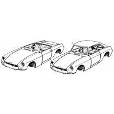 Bodyshell - MGB & MGB GT (1962-80)