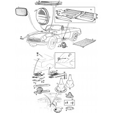 Grommets & Seals - MGB & MGB GT (1962-80)