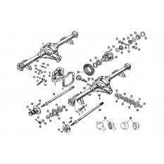 Rear Axle: Tube Type - MGB