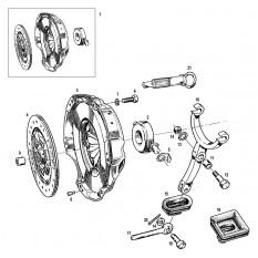 Clutch Drive Components - MGB