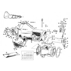 gearboxes & components - clutch, gearbox & axle - mgb, c ... mgb transmission diagram 1966 mgb wiring diagram free download schematic