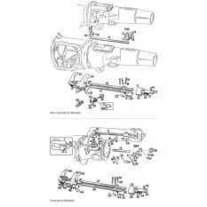 Internal Gearbox - Gear Selector Rods: 3 Synchro