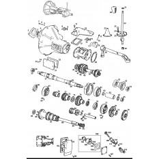 Internal & External Gearbox - MGB GT V8 (1973-76)