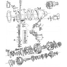 Overdrive Units & Components: 3 Synchro - MGB