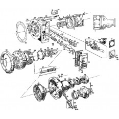 Overdrive Units & Components: 4 Synchro - MGB