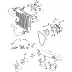 Cooling System: Electric Fan - MGB GT V8 (1973-76)