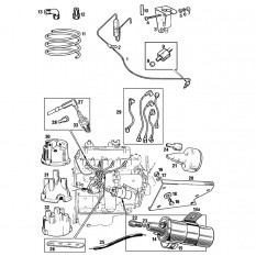 Ignition System Components - MGB