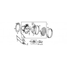 Headlamps: Sealed Beam Type - MGB & MGB GT (1962-76)