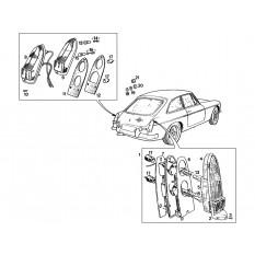 Rear Lamps - MGB & MGB GT (1962-80)