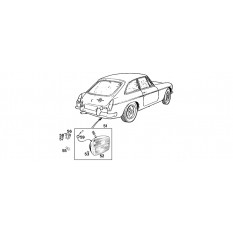 Rear Fog Lamps - MGB & MGB GT (1962-80)
