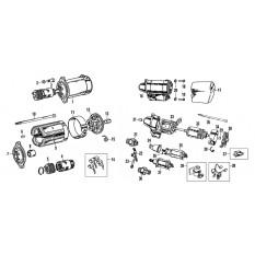 Starter Motor - MGB & MGB GT (1962-80)