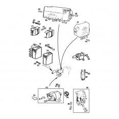 Control Box, Relays, Solenoid & Fuses - MGB & MGB GT (1962-80)