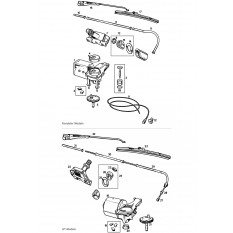 Windscreen Wiper System - MGB & MGB GT (1962-67)
