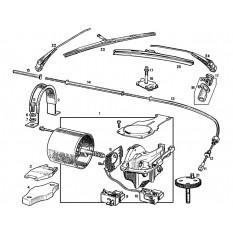 Windscreen Wiper System - MGB & MGB GT (1967-80)