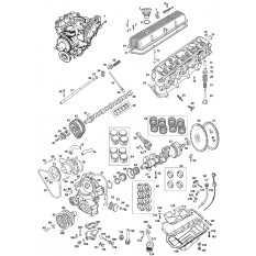 External & Internal Engine: V8 (486 Series) - MGB GT V8 (1973-76)