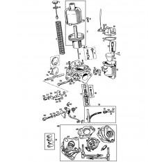 Carburettors: SU HS4, 1962-72