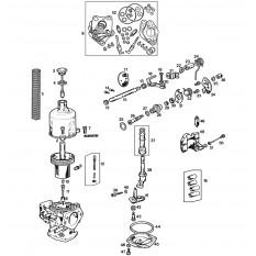 Carburettors: SU HIF4, from 1972