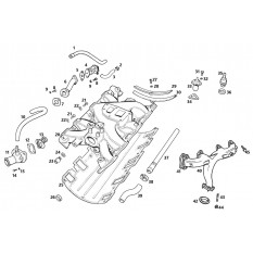 Inlet & Exhaust Manifolds - MGB GT V8 (1973-76)