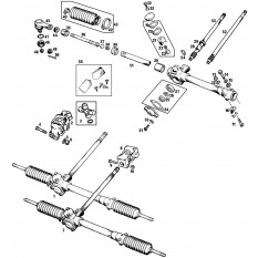 Steering Rack - MGB & MGB GT (1962-80)
