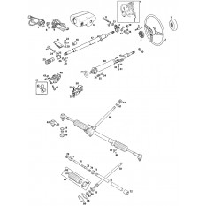 Steering Column & Rack - MGB GT V8 (1973-76)