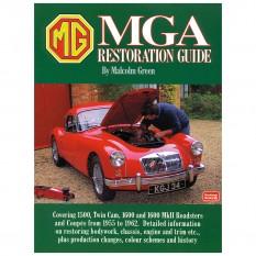 Restoration Guide, MGA, Soft Cover