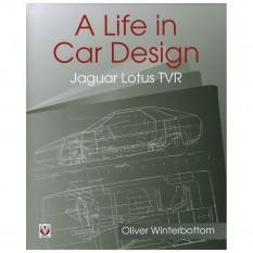 A Life In Car Design - Jaguar, Lotus, TVR, hardback
