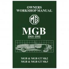 Workshop Manual, glove box edition, MGB