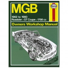 Haynes Workshop Manual, MGB