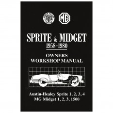 Workshop Manual, Sprite & Midget