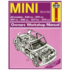 Haynes Workshop Manual, Classic Mini 1959-69