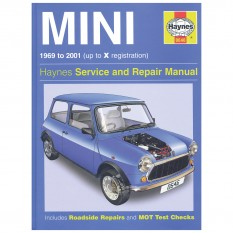 Haynes Workshop Manual, Classic Mini 1969-01
