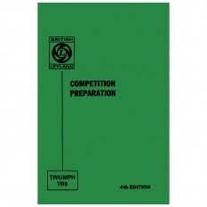 Competition Preparation Manual, TR250-TR6