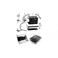 Batteries, Cables & Switches - T Type