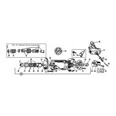 Starter Motor - TA,TB,TC,TD & TF (1936-55)