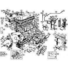 External Engine - TA,TB,TC,TD & TF (1936-55)